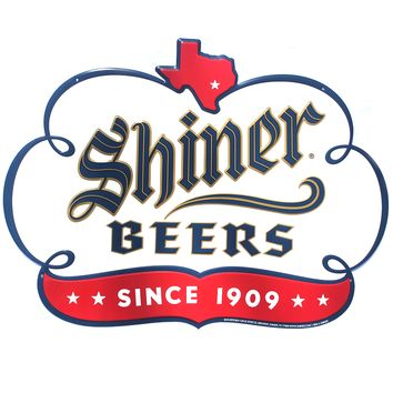 Shiner Premium Metal Sign