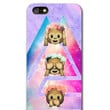 Cute Monkeys Space phone case