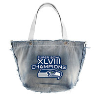 Seattle Seahawks NFL Vintage Denim Tote