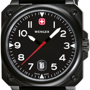 Wenger Men's Swiss Made AeroGraph Cockpit Watch 72424