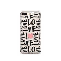 Spread The Love - Clear TPU Case Cover