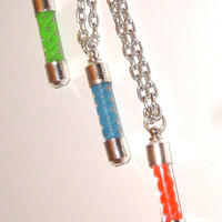 Resident Evil T A G virus pendant necklaces You choose color aka virus
