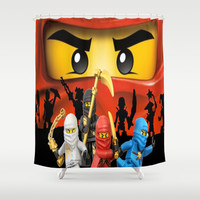 Lego Ninjago Shower Curtain by Store2u
