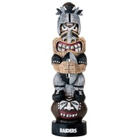 Oakland Raiders Tiki Figurine