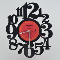 Vinyl Record Clock (artist is Judas Priest)