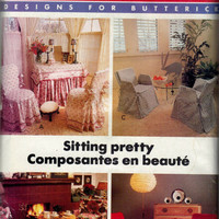 Vintage Butterick Pattern 6763 Better Homes and Gardens Chair Coverups