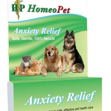HomeoPet Anxiety Relief Natural Homeopathic Remedy 15mL