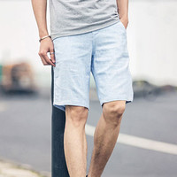 Summer Men's Slim Shorts