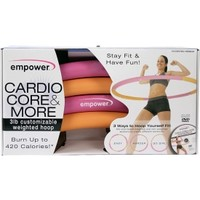 empower Cardio Core and More Customizable Weighted Hoop | DICK'S Sporting Goods