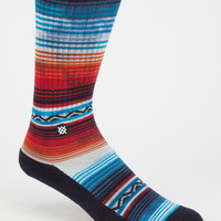 Stance Don Jose Classic Crew Mens Socks Red One Size For Men 26704530001