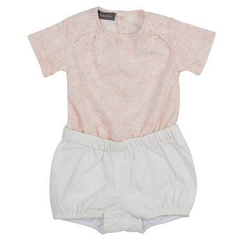 Pompomme Baby Girls' Tunic with Bubble Short