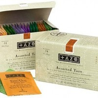 Tazo Assorted Tea Sampler, 24 Tea Bags