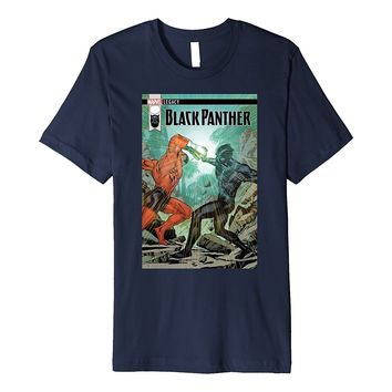 Marvel Black Panther Duel Legacy Comic Cover Premium T-Shirt