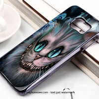 Disney Alice In Wonderland Cheshire Cat Smile Samsung Galaxy S6 and S6 Edge Case