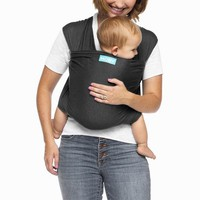 Moby Evolution Wrap Baby Carrier - Gray