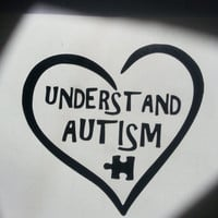 Understand Autism Awareness Vinyl Laptop Tablet Out Car Window tumbler cup Die Cut Decal Sticker