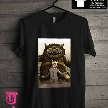 Where the Wild Things Are cartoon 42406647-f137-43cc-af32-100886064c52 T-Shirt for man shirt, woman shirt **