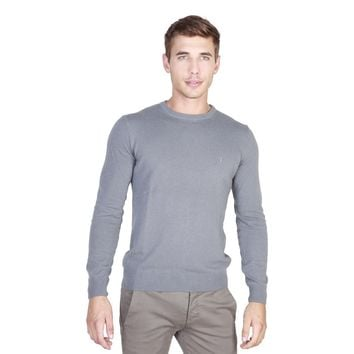 Trussardi Men's Grey Long Sleeve Shirt