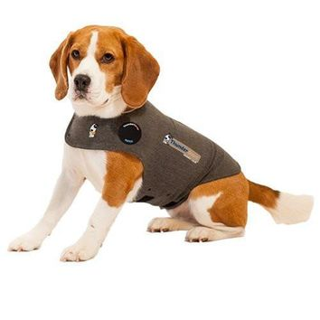 Thundershirt Anti-Anxiety Dog Jacket Size: Small Grey