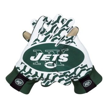 Nike New York Jets Stadium Gloves - Green