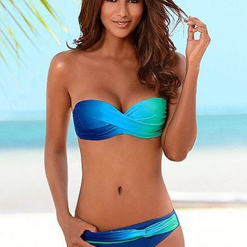 Ombre bandeau, ombre moderate bottom