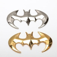 New Car styling Batman 3D Metal Car stickers 3M Adhesive Car Lable = 1927935428