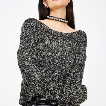 White Noise Knit Sweater