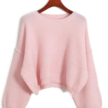 Best Pink Cropped Sweater Products on Wanelo