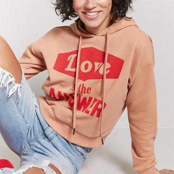 Love Is the Answer Graphic Hoodie