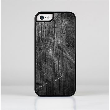 The Grunge Scratched Metal Skin-Sert Case for the Apple iPhone 5c