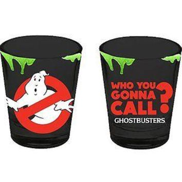 Ghostbusters Logo 2 oz. Shot Glass