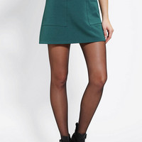 Cooperative Pebbled A-Line Skirt - Urban Outfitters