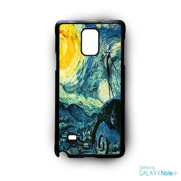Nightmare Before Christmas Art Van Gogh for Samsung Galaxy Note 2/Note 3/Note 4/Note 5/Note Edge phone case