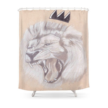 Society6 Lion King Shower Curtain