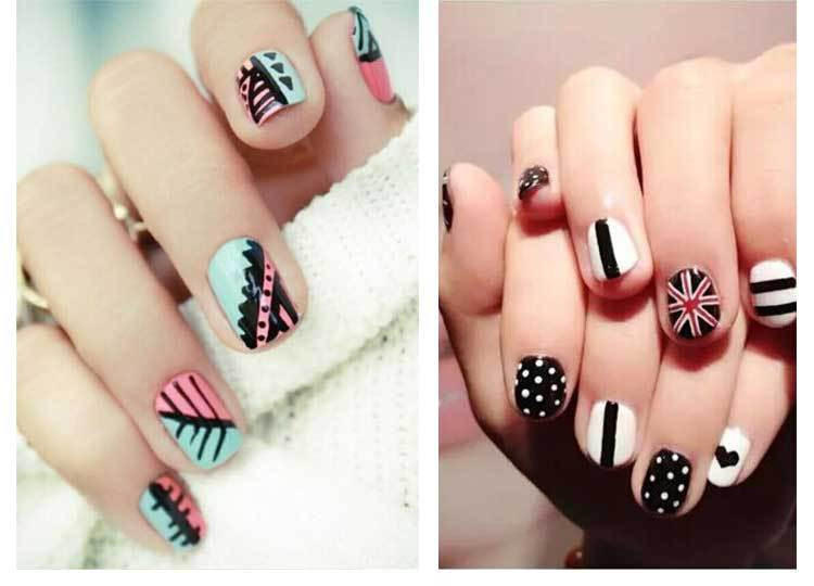Gel nail art pens gallery nail art and nail design ideas 1pcs nail art pen diy painting design from deal real makeup full size full size full prinsesfo Images