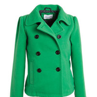 Peter Pan Collar Peacoat