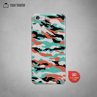 iPhone 6 Case, iPhone 6 Plus Case, iPhone 5S Case, iPhone 5 Case, iPhone 5C Case, iPhone 4S Case, iPhone 4 Case - Camouflage Case