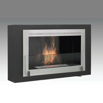 "Eco-Feu Montreal - 42"" UL Listed Wall Mounted/Built-in Ethanol Fireplace (WU-00170)"