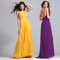2014 Collection Long A-line Prom Dress