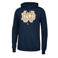 adidas Notre Dame Fighting Irish Logo Fleece Hoodie - Men