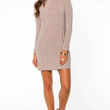 Isabelle Sweater Dress by EVERLY