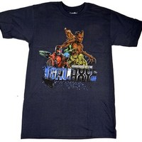 Guardians Of The Galaxy Asteroid T-shirt