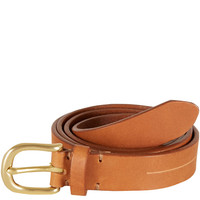 Folk Brown Mitchell Leather Belt | Belts by Folk | Liberty.co.uk