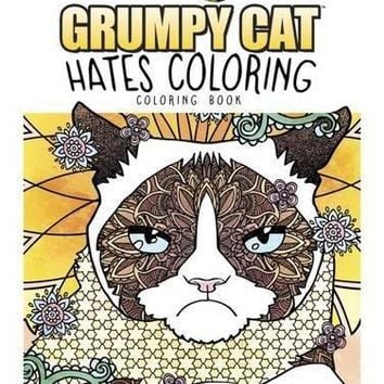 Creative Haven Grumpy Cat Hates Coloring Creative Haven Coloring Books CSM