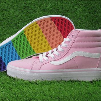 Vans Rainbow Ice Cream High Skateboarding Shoes 35-39 21236540e