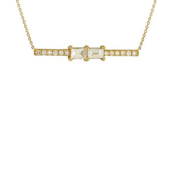 Bony Levy Diamond Bar Pendant Necklace (Nordstrom Exclusive) | Nordstrom