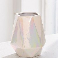 Iridescent Geo Utensil Holder | Urban Outfitters