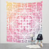 Ella Wall Tapestry by Lisa Argyropoulos