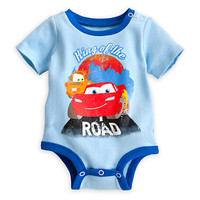Lightning McQueen and Tow Mater Disney Cuddly Bodysuit for Baby | Disney Store