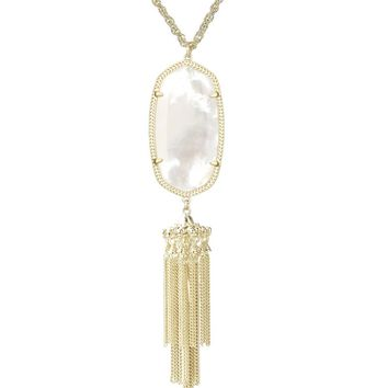 Rayne Necklace in Ivory Pearl - Kendra Scott Jewelry
